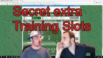 Secret Extra Training #Hattrick