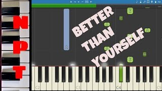Lukas Graham - Better Than Yourself (Criminal Mind Pt. 2) - Piano Tutorial