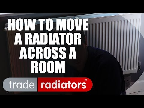 Moving A Radiator Across A Room