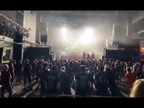 "DESTRUCTION play their 1st live ""social distance' concert in Switzerland ..!"