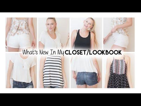 What's New In My Closet/Lookbook