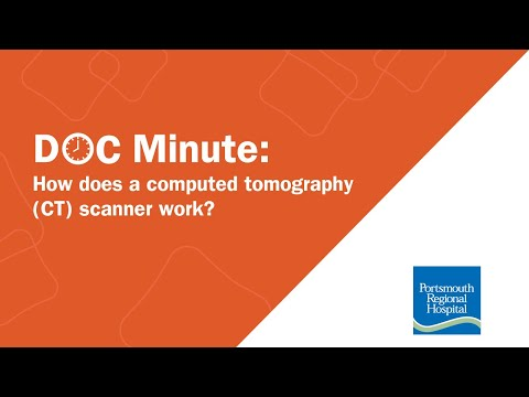 How does a computed tomography (CT) scanner work?