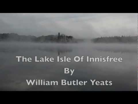 """The Lake Isle Of Innisfree""-WB Yeats-Irish Poetry-Inspired Poem-Ireland Best Poems-Classic Poetry"