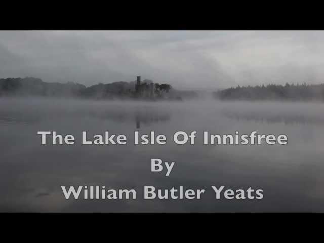 william butler yeats innisfree