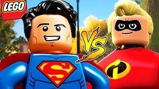 LEGO Os Incríveis - SUPERMAN vs SENHOR INCRÍVEL #20 EXTRAS