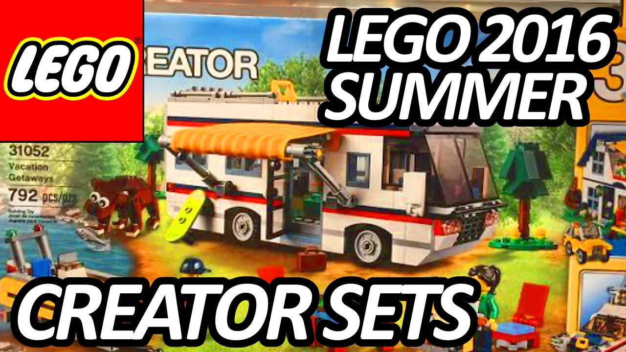 LEGO Creator Summer 2016 Sets Pictures from New York Toy Fair - レゴ - 31049 31051 31052 31053 ... Lego Creator Treehouse