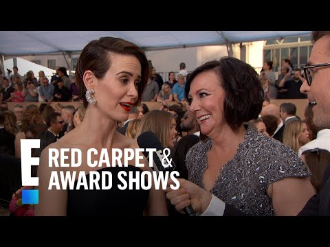 "Thumbnail: Marcia Clark Thinks Sarah Paulson's Portrayal Is ""Bizarre"" 
