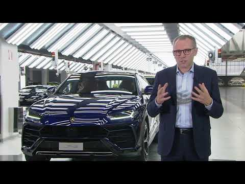 Lamborghini speaks to Sky News about 'world's first super SUV'