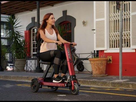 Relync R1 - складной электро скутер. Отличный подарок пенсионерам, инвалидам и тд.