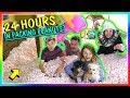 Download 24 HOURS IN PACKING PEANUTS - OVERNIGHT CHALLENGE | We Are The Davises