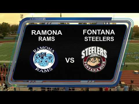 HIGH SCHOOL FOOTBALL - RAMONA v FONTANA