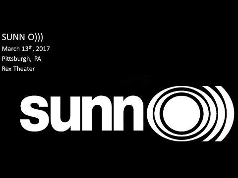 Sunn O))) - March 13th, 2017 - Pittsburgh, PA - Rex Theater