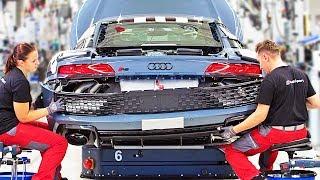 AUDI R8 – Production Line – German Car Factory