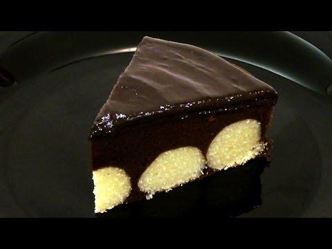 Шоколадный торт с творожным кремом. Рецепт приготовления