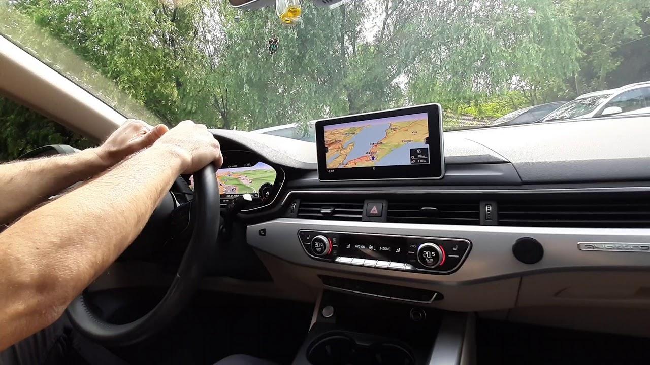 Audi A5 MIB II High Navigasyon Sistemi ve Hayalet Gösterge Uygulaması