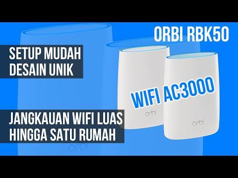 WiFi Kencang & Sinyal Kuat di Seluruh Rumah: Review Router Netgear Orbi (RBK50) - Indonesia