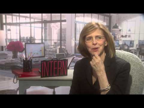 intern nancy meyers director exclusive interview youtube. Black Bedroom Furniture Sets. Home Design Ideas