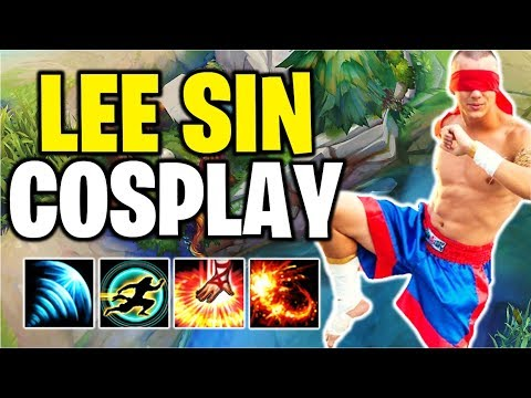 COSPLAYING LEE SIN?! I Can't Believe I'm Doing This... | #19 - League of Legends