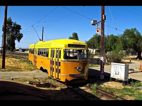 Orange Empire Railway Wig Wag, Trolley, Train Action - 4/27/13