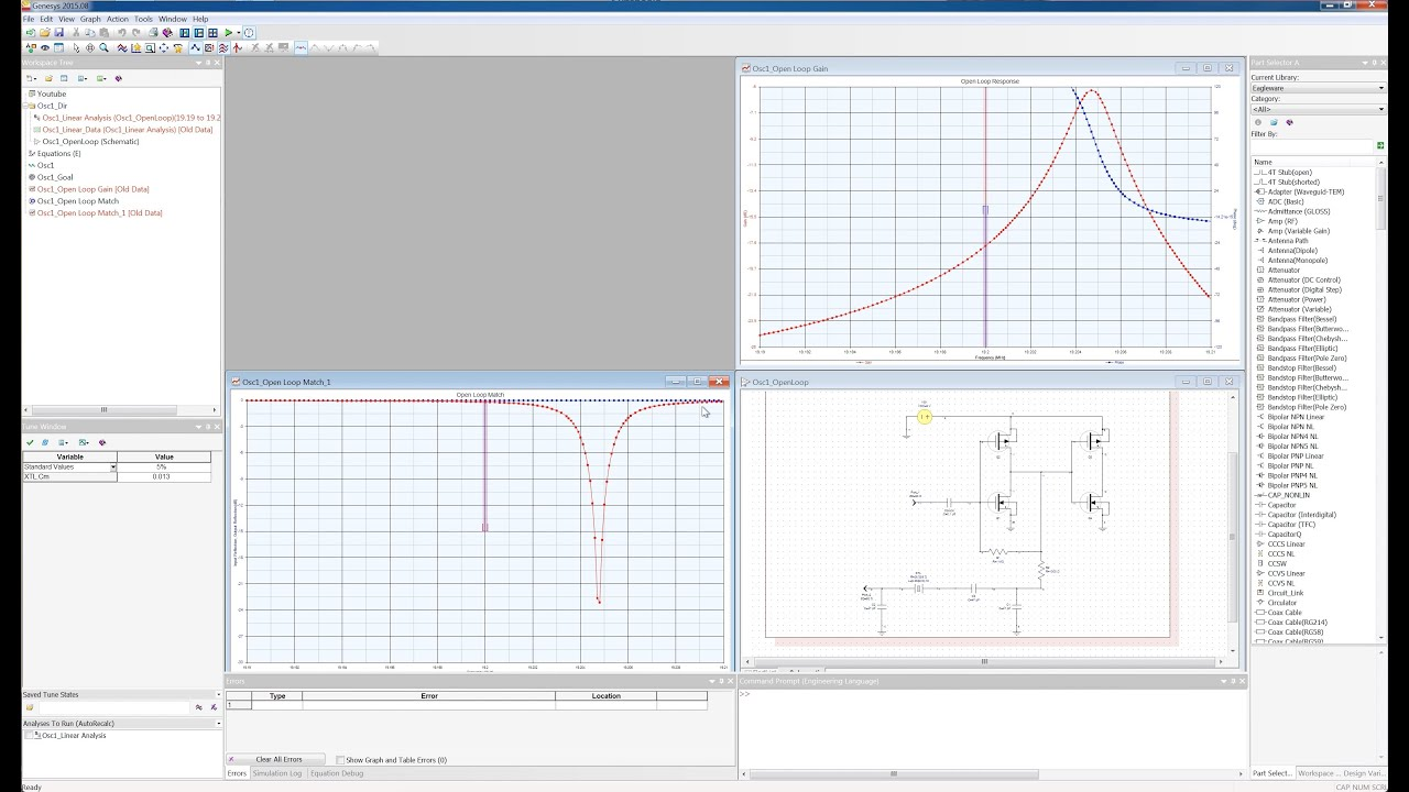 Oscillator Simulation And Design With Genesys Youtube How To Build Notch Filter Circuit Diagram