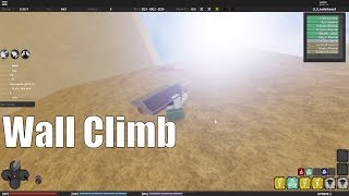 How to Wall Climb in Shinobi Story on PC (ROBLOX)