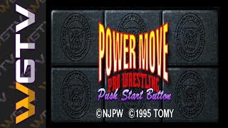 Power Move Pro Wrestling (HD) [Playstation]