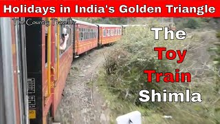 Visit Shimla by The Toy Train, Northern India, in the foothills of the Himalayas #NaughtyMonkeys