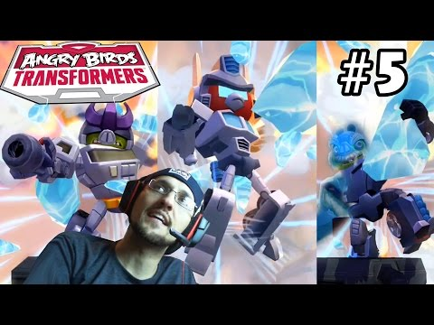 Lets Play Angry Birds Transformers Part 5: Galvatron, Lockdown & Ultra Magnus SAVED!