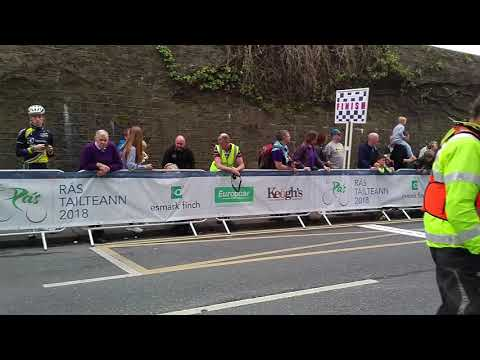 """Movin ' the Noise"" - Europcar Cycle race Athlone, Ireland"