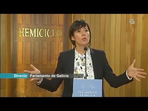 Valoración de Ana Pontón da intervención de Feijóo no Debate sobre o estado da Nación Galega