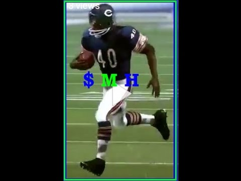 $-M-H -DEC. 12, 1965 GAYLE SAYERS- 6 TDs vs 49ers in the mud MADDENIZED