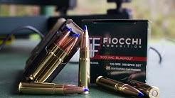 Fiocchi 125gr SST - 300 Blackout Ammo Test