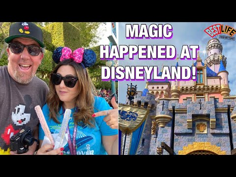 We Let Magic Happen At Disneyland! Castle Walkthrough Attraction, New Treats & Magic Happens Parade!
