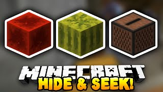 Minecraft - HIDE & SEEK! (Block Mini-Game) - w/ Preston & Vikkstar123
