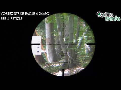Vortex Strike Eagle 4-24x50 EBR-4 Reticle | Optics Trade Reticle Subtentions