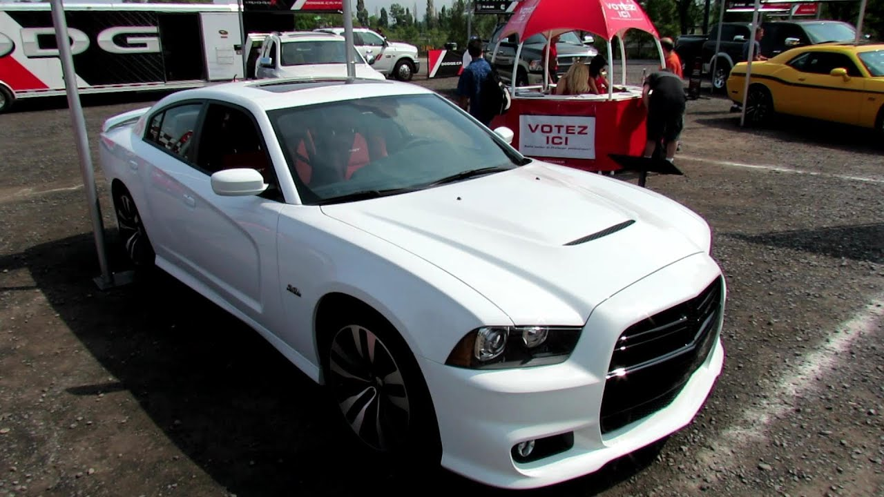 2012 Dodge Charger Parts >> 2012 Dodge Charger Srt8 Exterior And Interior 2012 Nascar Napa Auto Parts 200 Montreal