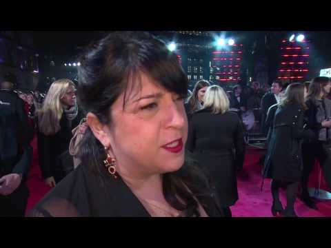 Fifty Shades Darker UK Premiere Interview - E.L. James