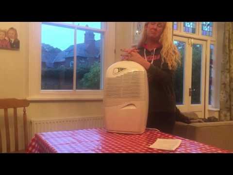 AO Review Ebac 2650e Dehumidifier in White