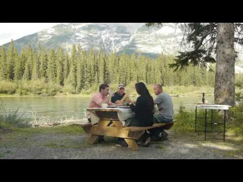 """Rogues on the Road"" pilot teaser takes the two Westchester teachers and outdoorsmen  to Banff National Park in Canada."