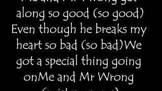 Mr.Wrong by Mary J. Blige Feat Drake (Lyrics)
