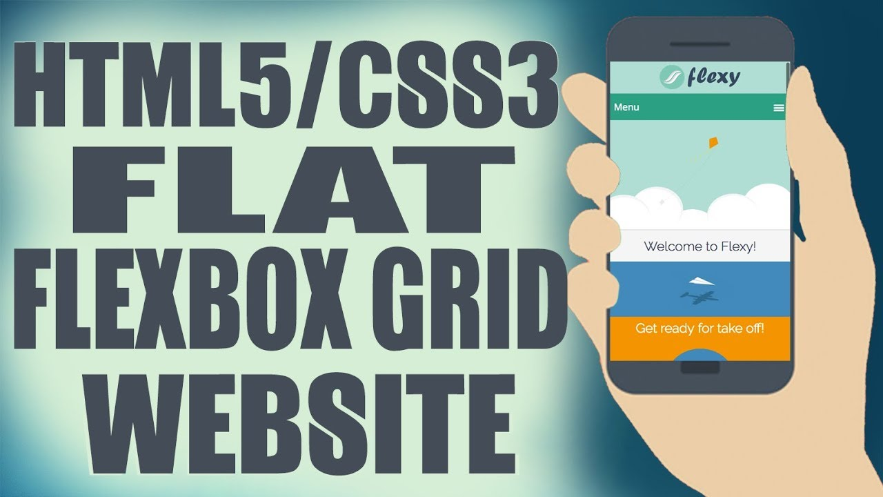 Responsive HTML/CSS Website From Scratch with Flexbox Grid - YouTube