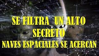 LA NASA DETECTA NAVES EXTRATERRESTRES LLEGANDO A LA TIERRA