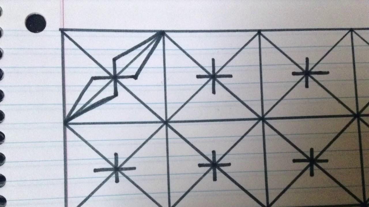 رسم زخرفة تشبه شعيرات البوصلة رقم 39 Youtube
