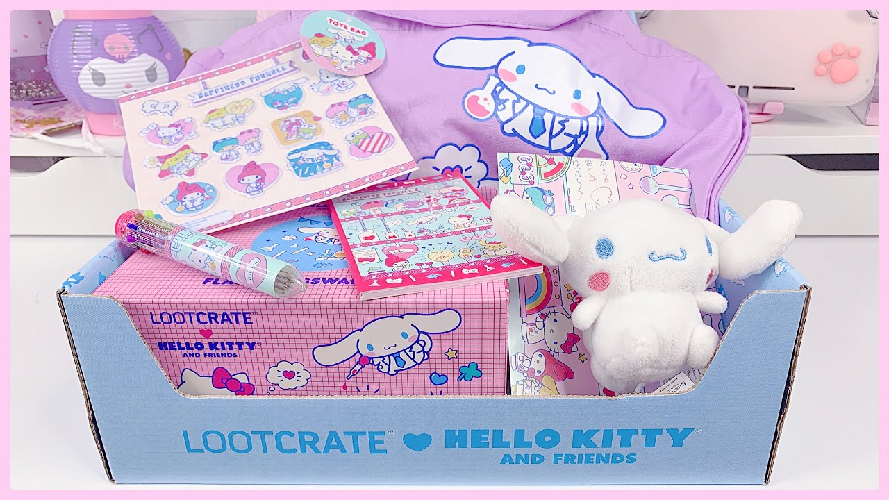 LootCrate Hello Kitty and Friends Subscription Unboxing!!