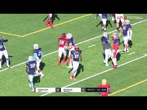 2018 Tropical Bowl - American Team Offense Vs National Team Defense