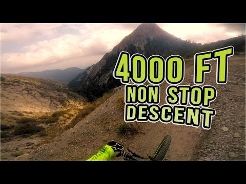 XC Ride: Mt Wilson Non-Stop Descent, Los Angeles Mountain Biking
