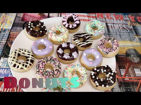 donuts-amÉricain-au-four-recette-n°1-(-donuts-recipe-#-1-)