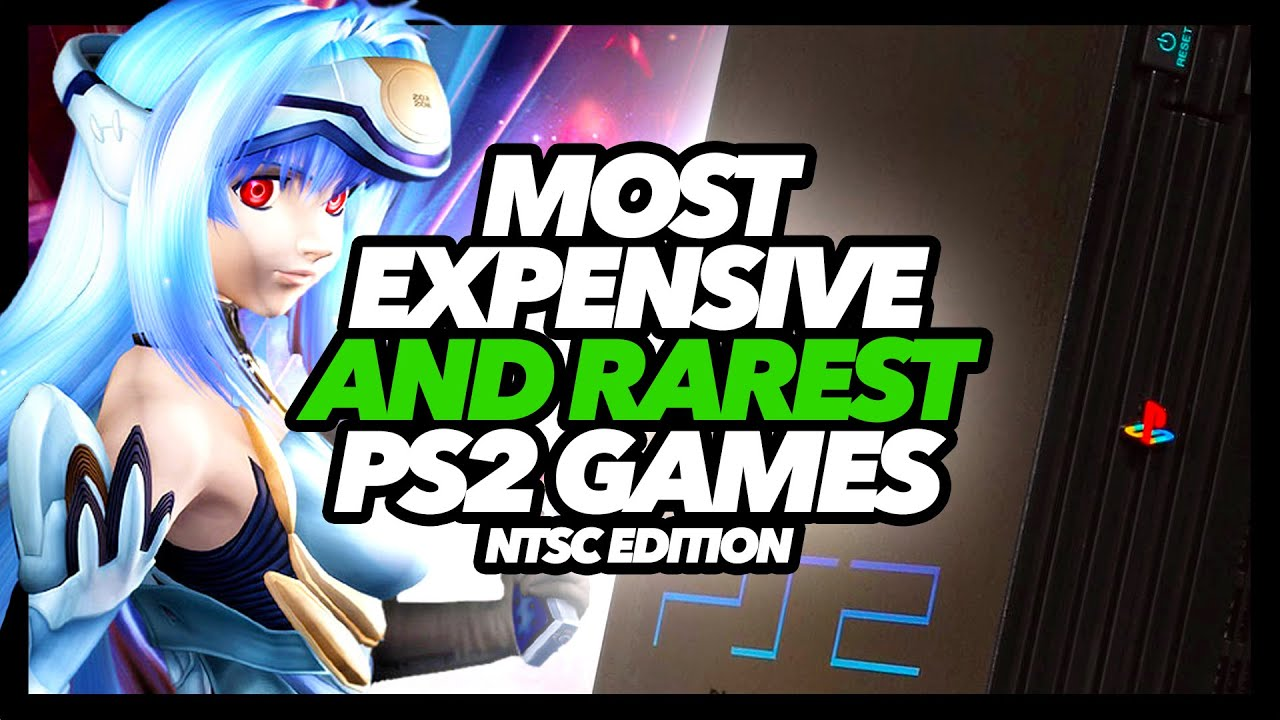 Most Expensive And Rarest PS2 Games