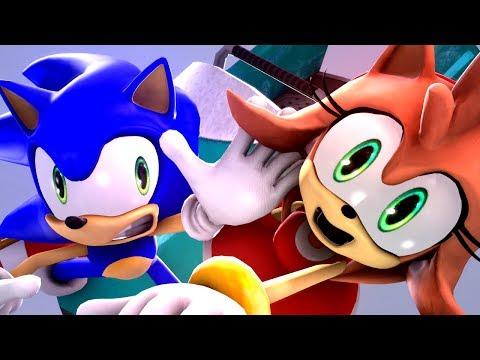SONIC AND AMY'S WINTER SLEIGH DATE!! - Sonic Animation SFM 4K   Sasso Studios