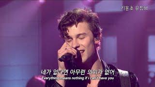 션 멘데스 (Shawn Mendes) -  If I Can't Have You [가사/해석/자막]